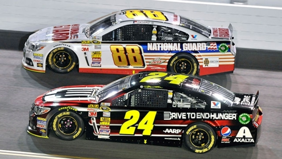 Expanded 2015 Sprint Unlimited field features all four Hendrick Motorsports drivers