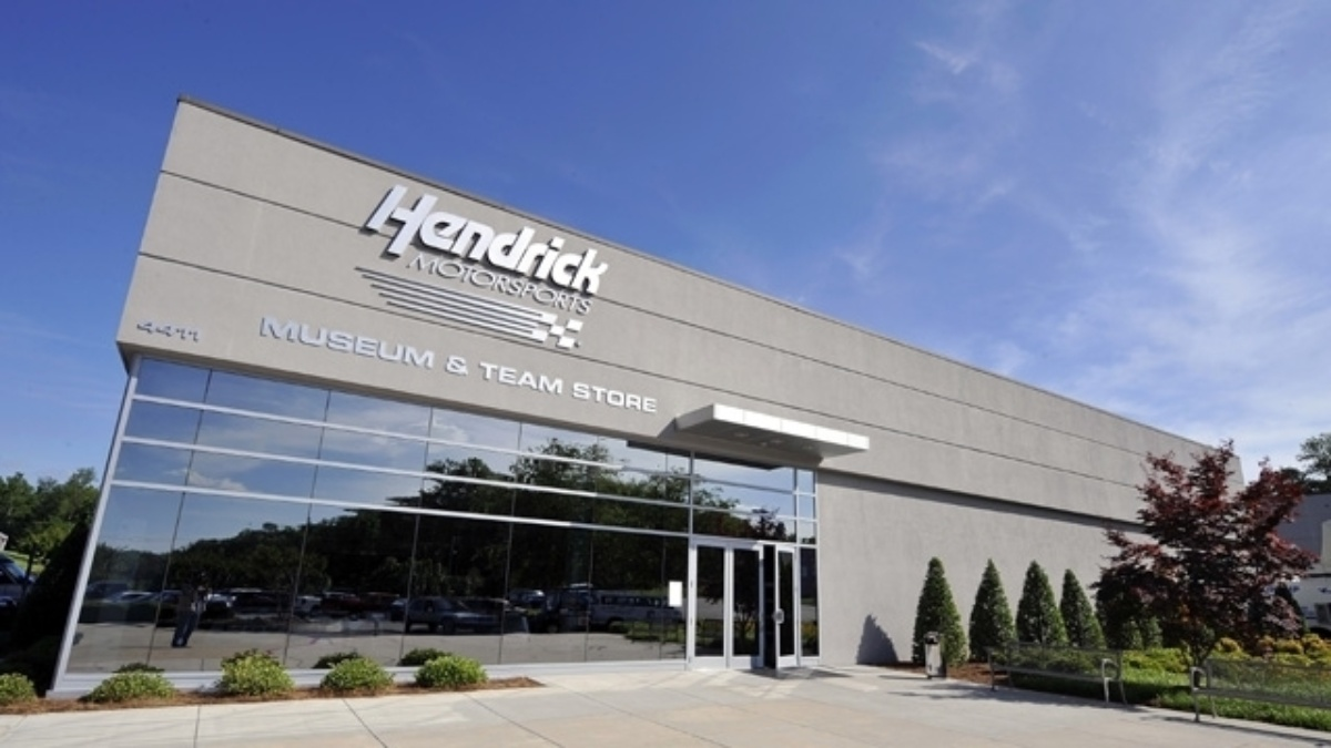 Hendrick Motorsports Museum & Team Store open at 11 a.m. on Friday
