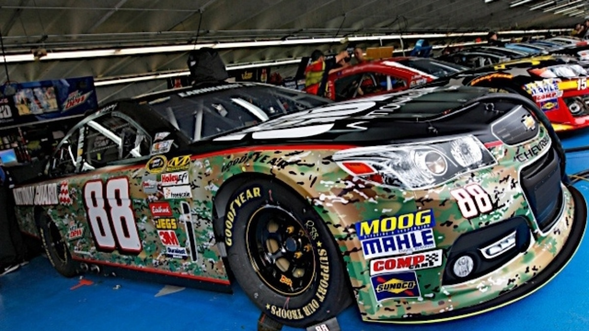 Hendrick Motorsports drivers participate in 'NASCAR: An American Salute'