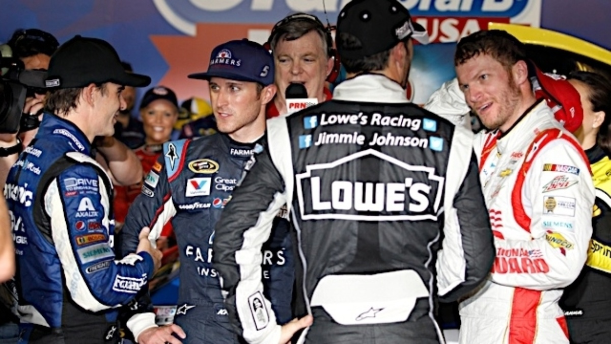 Hendrick: Victory Lane camaraderie 'really was special'