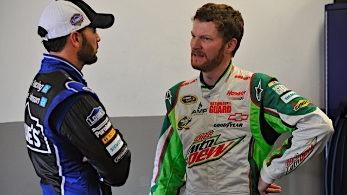 Hendrick teammates record top-10 lap times in first day of Daytona testing