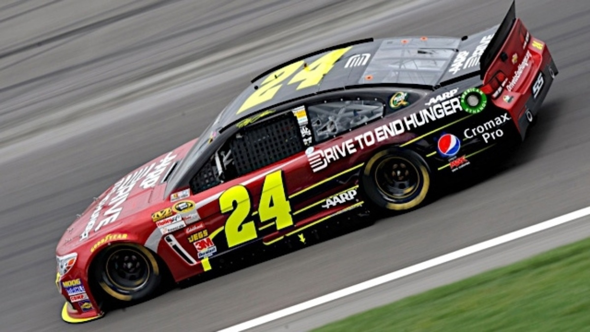 Jeff Gordon, Kasey Kahne qualify in top four at Richmond