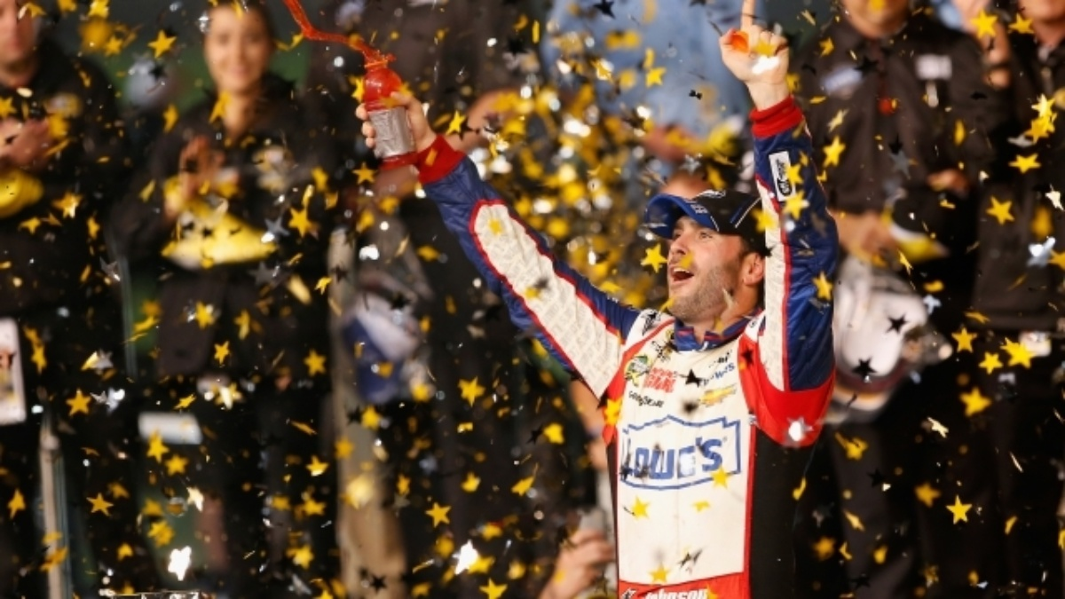 Jimmie Johnson makes history by winning fourth All-Star Race