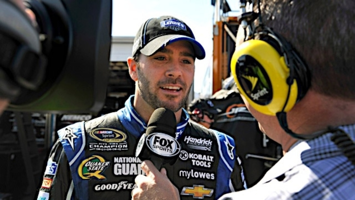 Jimmie Johnson's post-Daytona 500 media tour