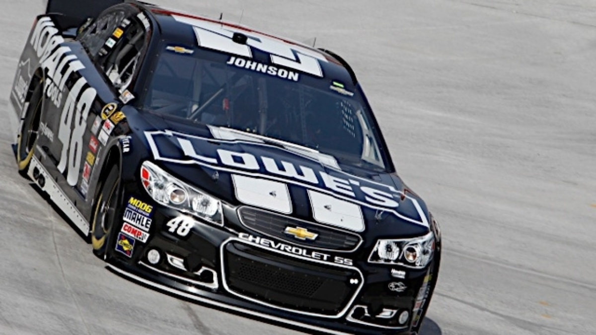 Johnson to start on the pole, teammates in the top 11 at Pocono