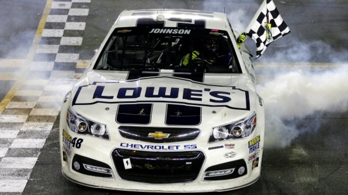 Johnson wins second straight at Daytona, Earnhardt finishes eighth
