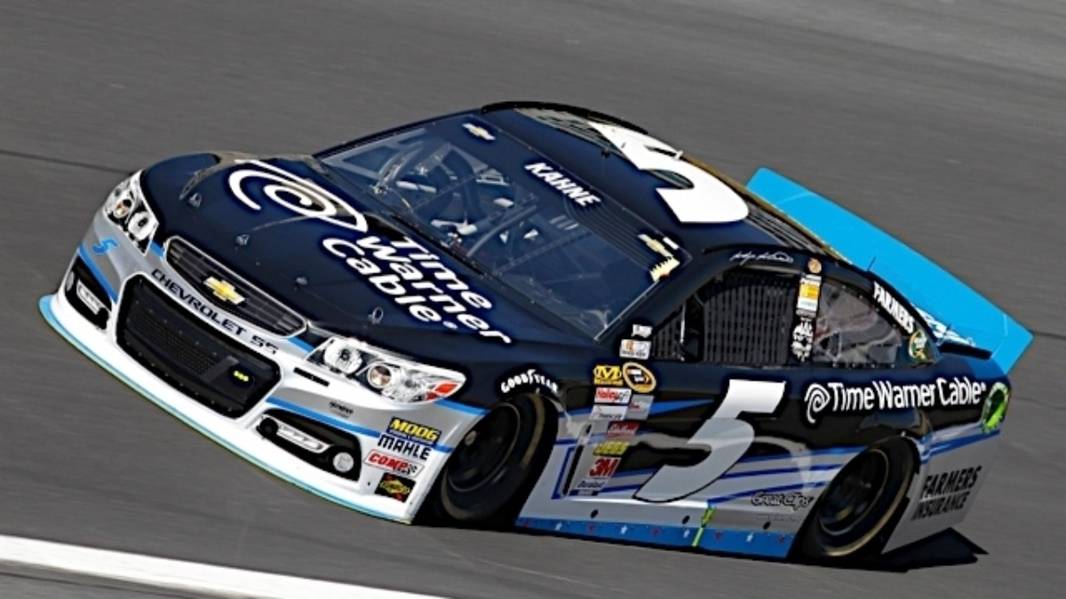 Kasey Kahne records runner-up honors in 600-mile Charlotte event