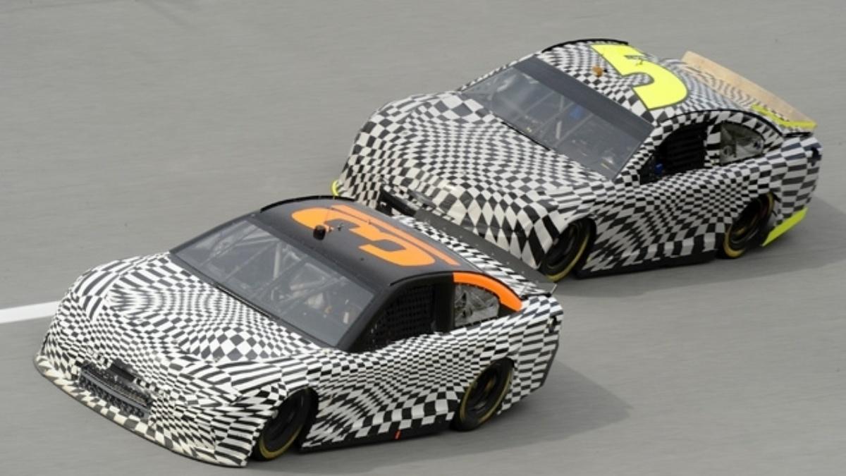 Kasey Kahne tests 2013 Chevy at Talladega