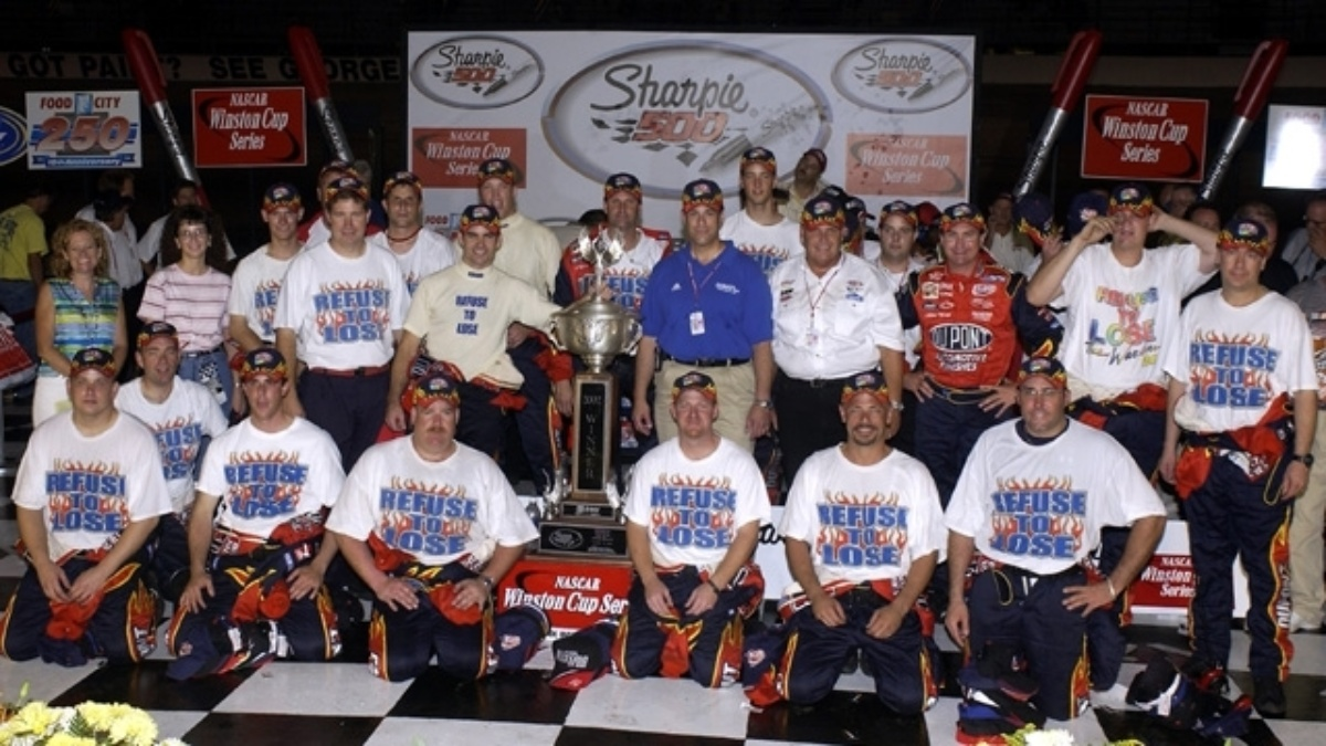 Looking back at Jeff Gordon's 2002 win at Bristol