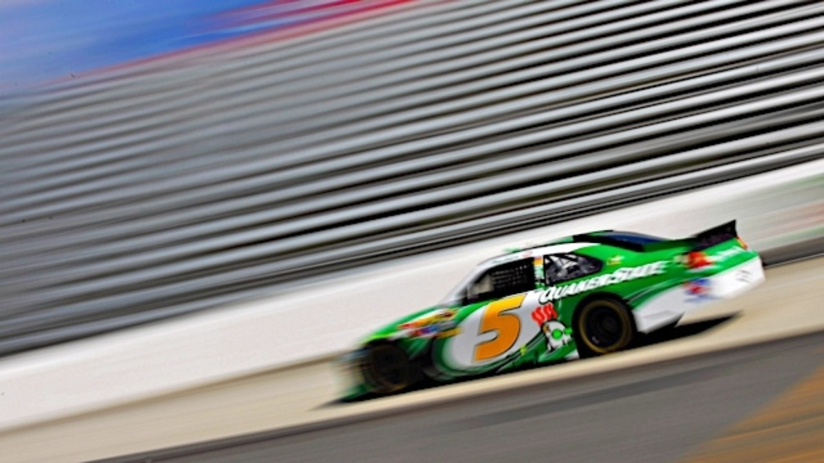 Martin after qualifying 12th at Martinsville: We have a fast race car
