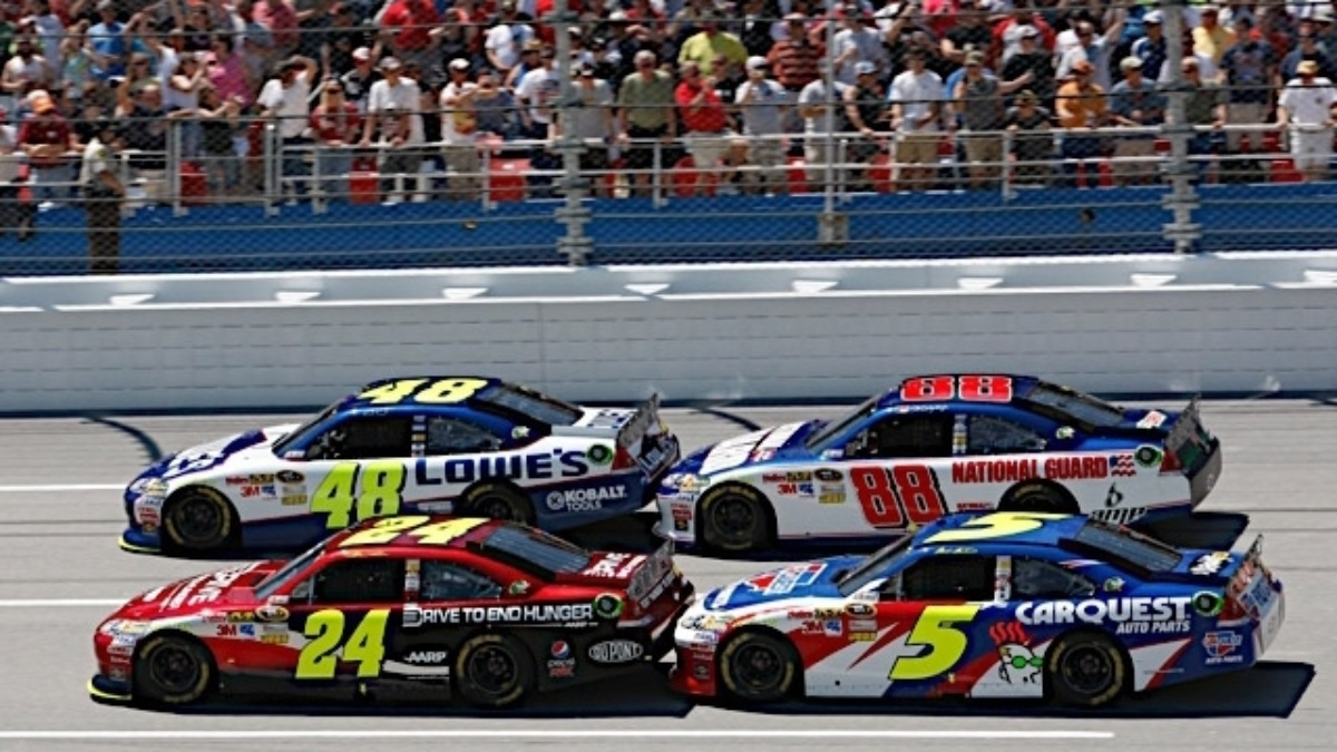NASCAR releases 2012 Cup schedule
