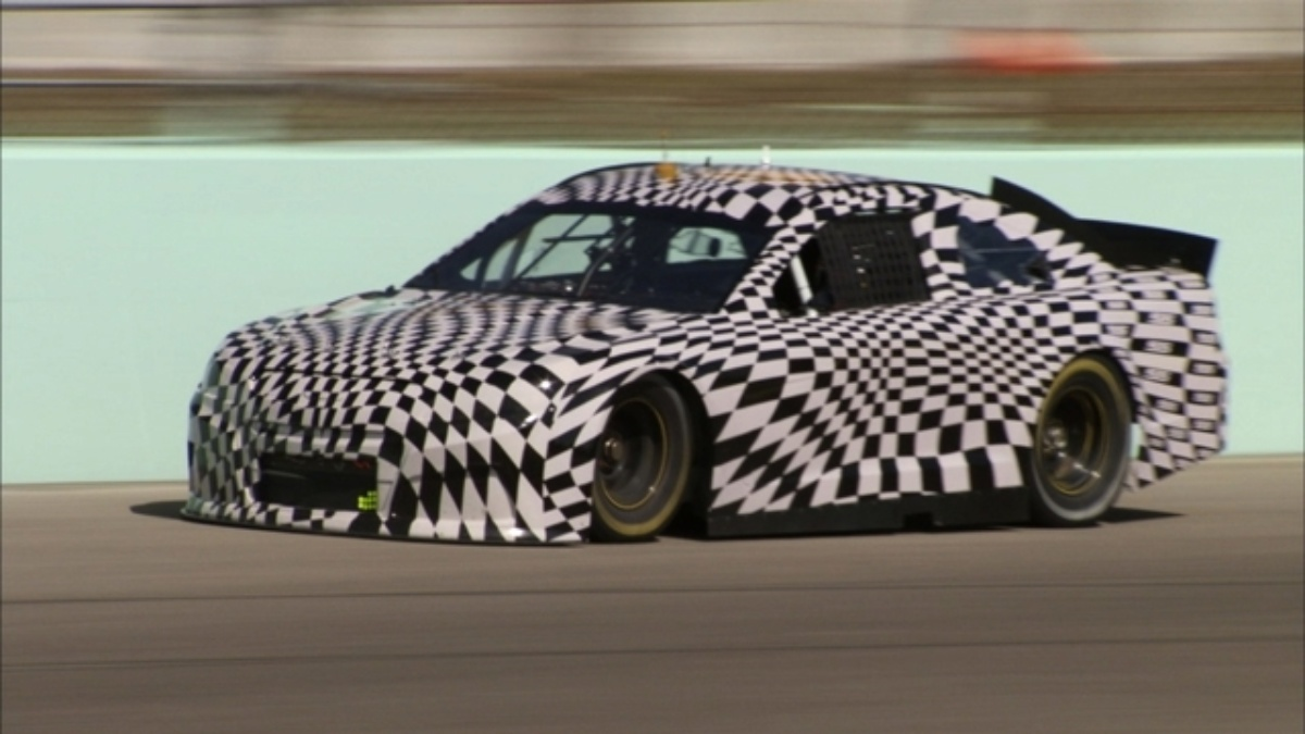 New look ready for 'sixth generation' 2013 NASCAR Sprint Cup race car