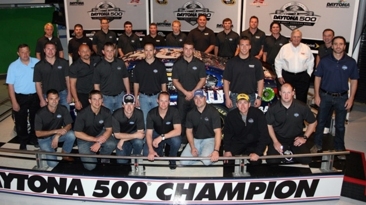 No. 48 team celebrates second Daytona 500 triumph at Champion's Breakfast