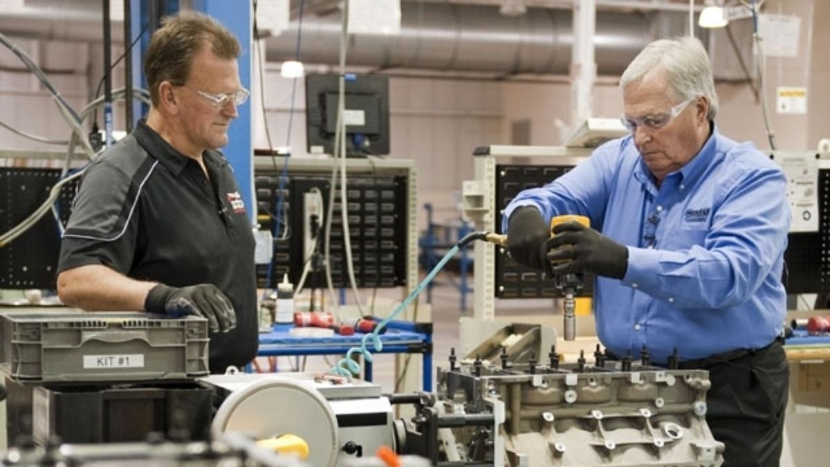 Rick Hendrick builds his own engine for Corvette Z06