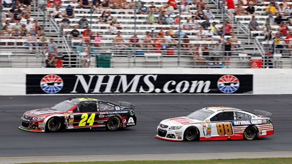 The last time new hampshire motor speedway hendrick for New hampshire motor speed way