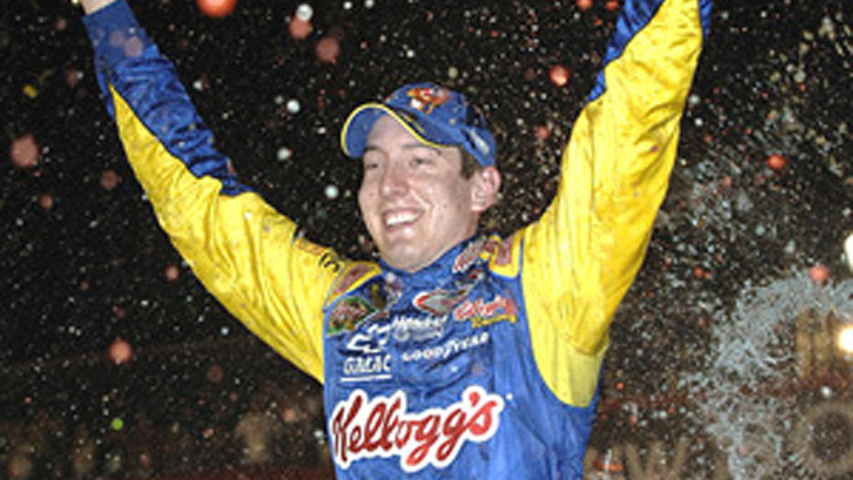 California Dream: Kyle Busch Wins First Cup Race