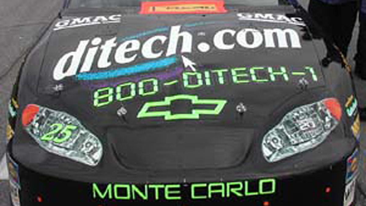 Ditech.com Activating its 2004 Sponsorship