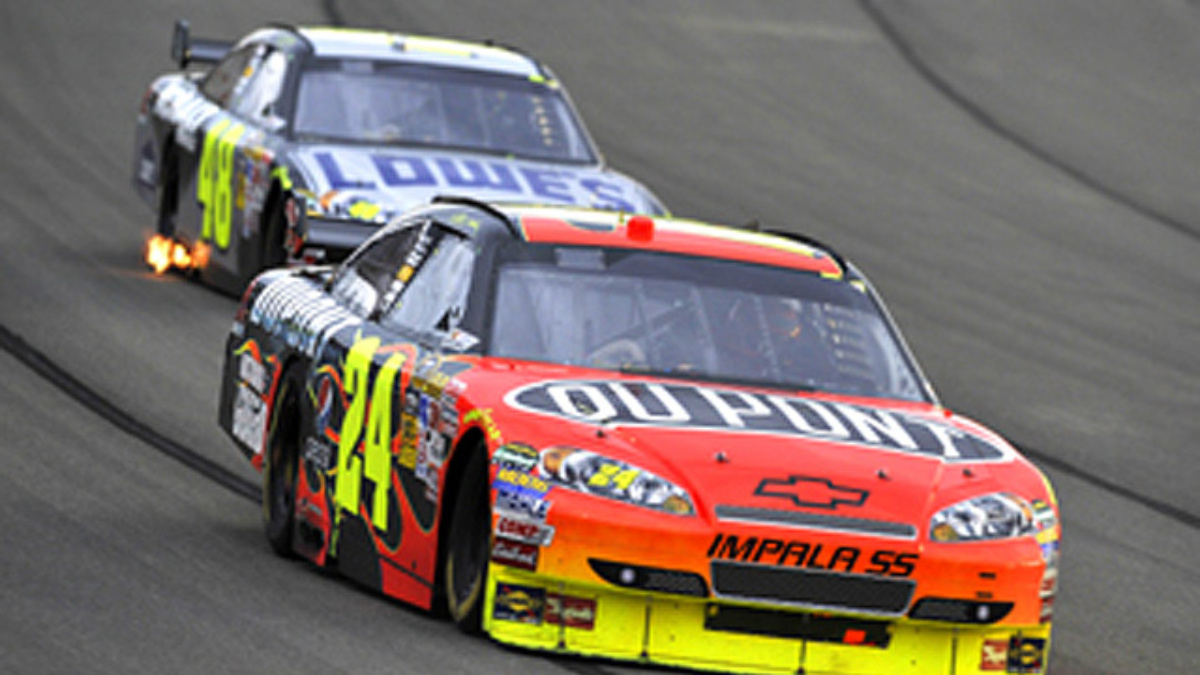 Double-file restarts kick off at Pocono