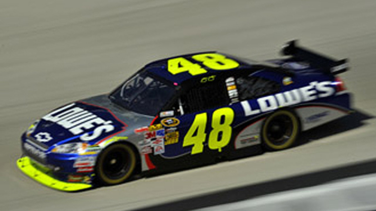 Dover qualifying: Johnson on pole, Gordon 10th