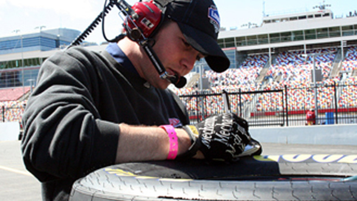 Getting to Know Zack Miller, tire specialist for the No. 48 Chevrolet