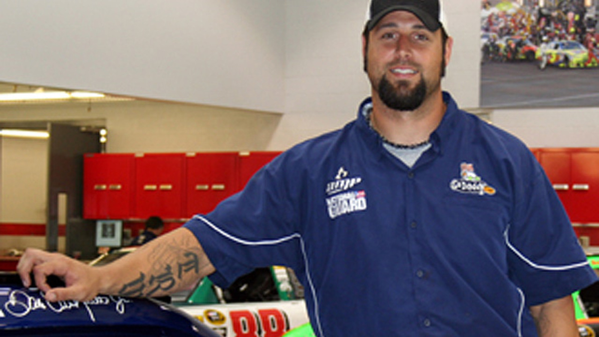 Getting to know Aaron Walker, crew member for the No. 88 Chevrolet