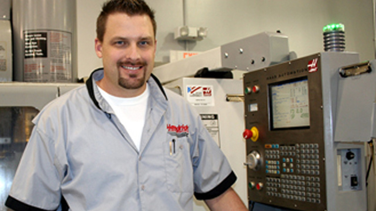 Getting to know Dale Neve, CNC programmer & machinist