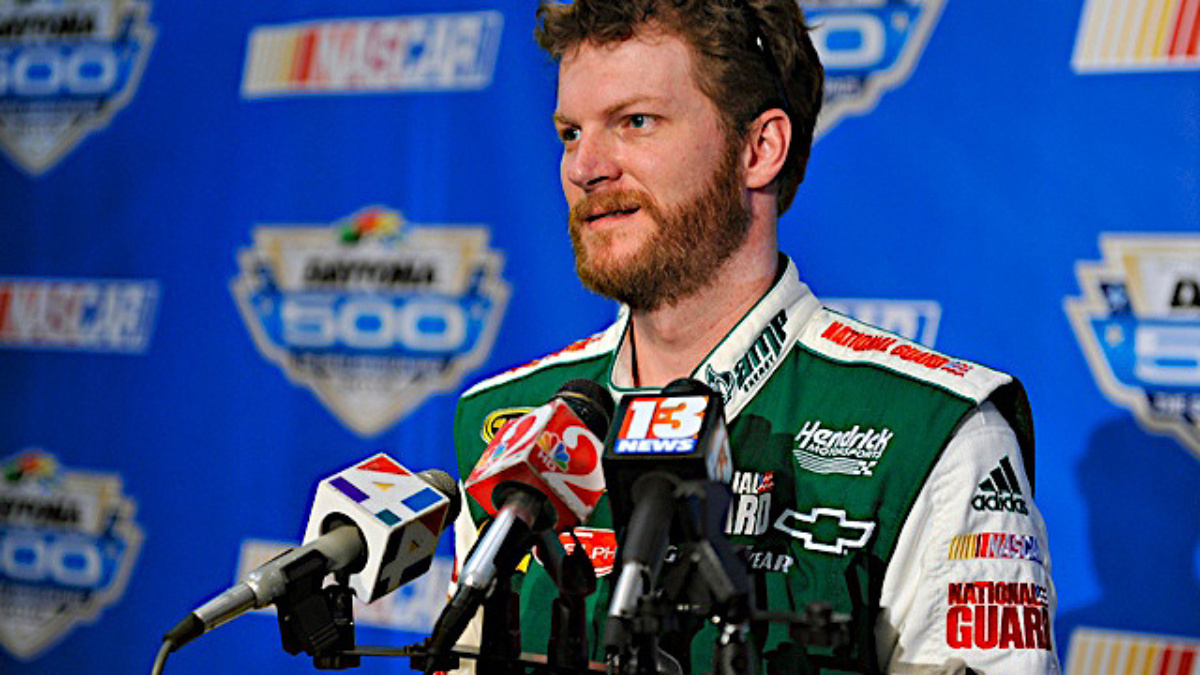 Gordon, Johnson and Earnhardt on hand for Chevy stage at Daytona this weekend