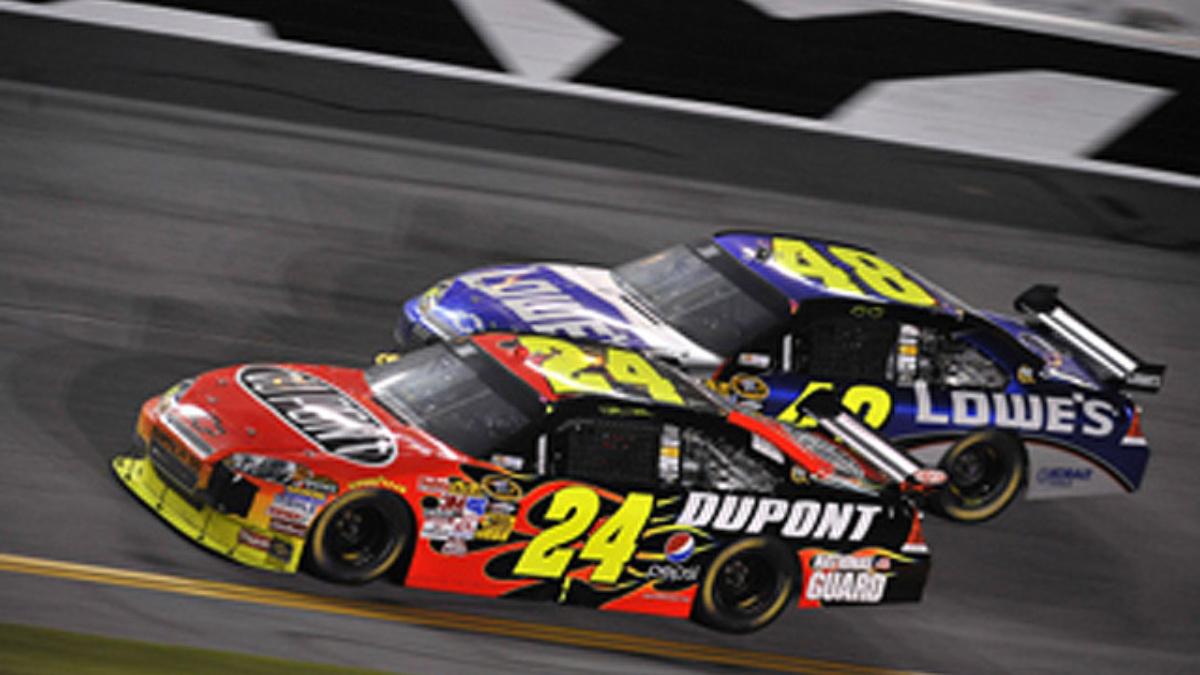 Gordon thinks double-file restarts might help at Daytona