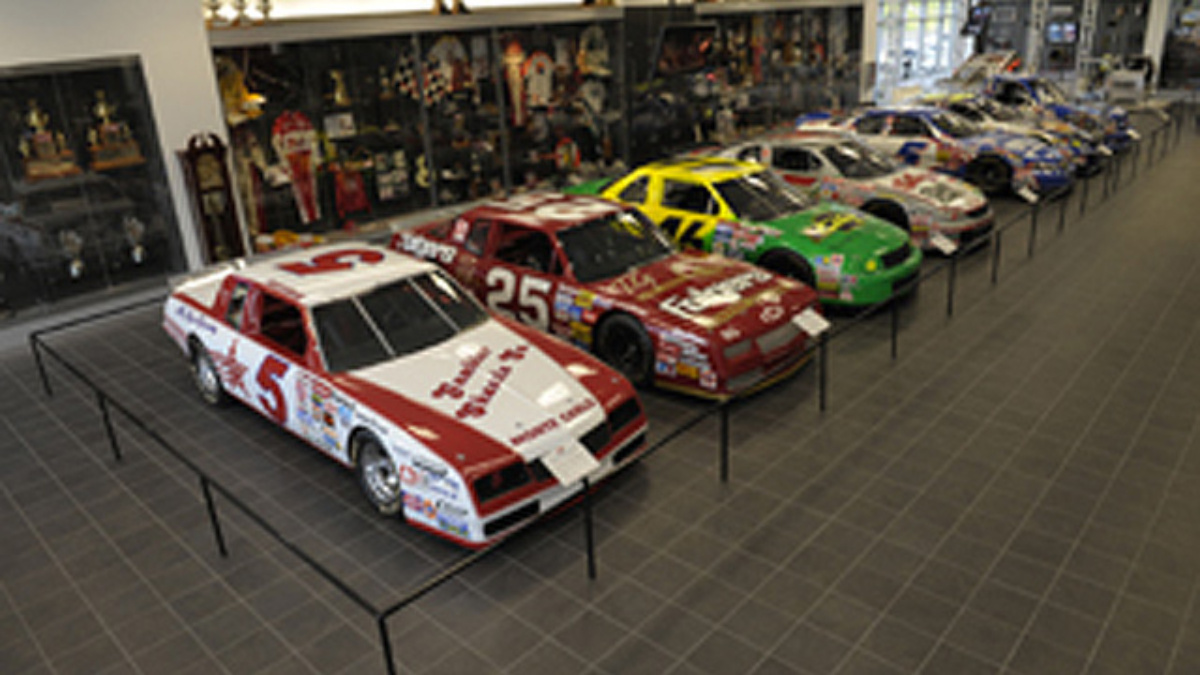 Hendrick Motorsports Museum and Team Store closed Saturday