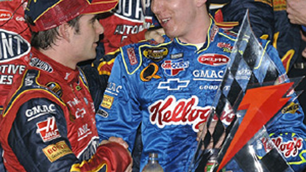Hendrick Packs 1-2 Punch in Second Gatorade Duel