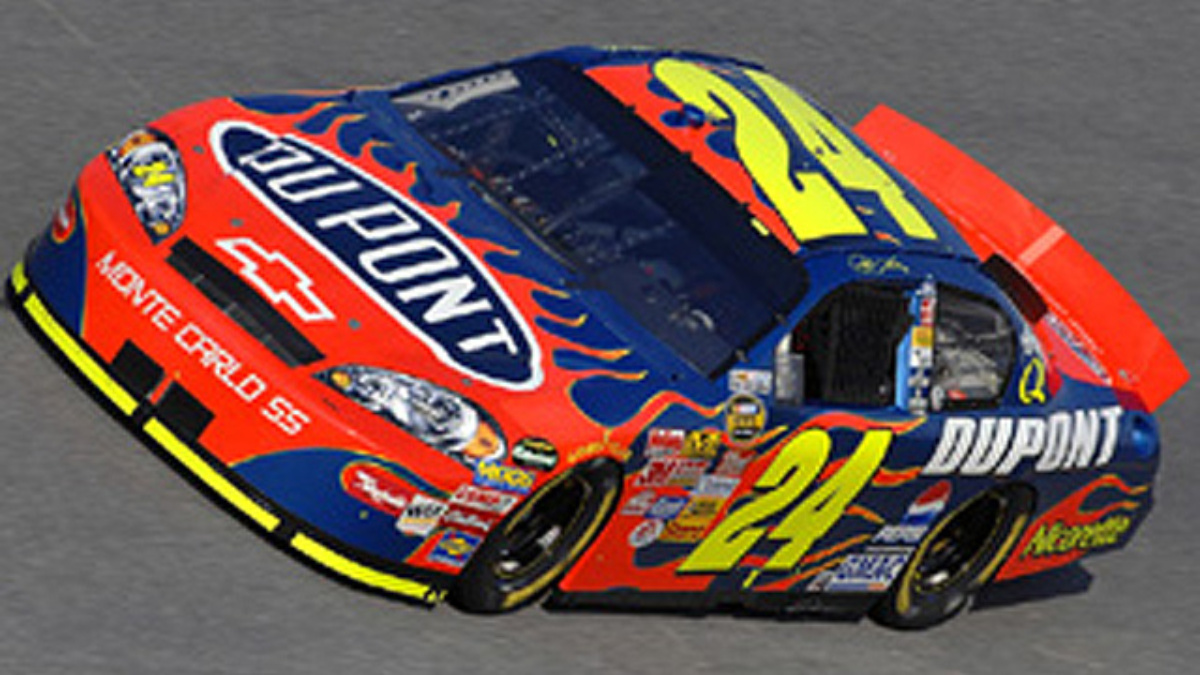 Jeff Gordon Hopes to Ride 'Wave' to California Victory