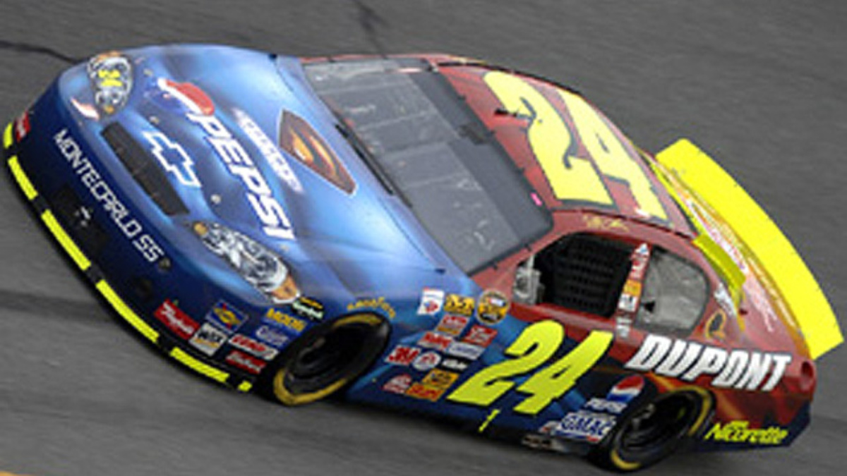 Jeff Gordon Ready to Fly at Daytona