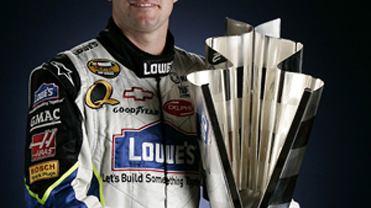 Jimmie Johnson Candidate for  Athlete of the Year
