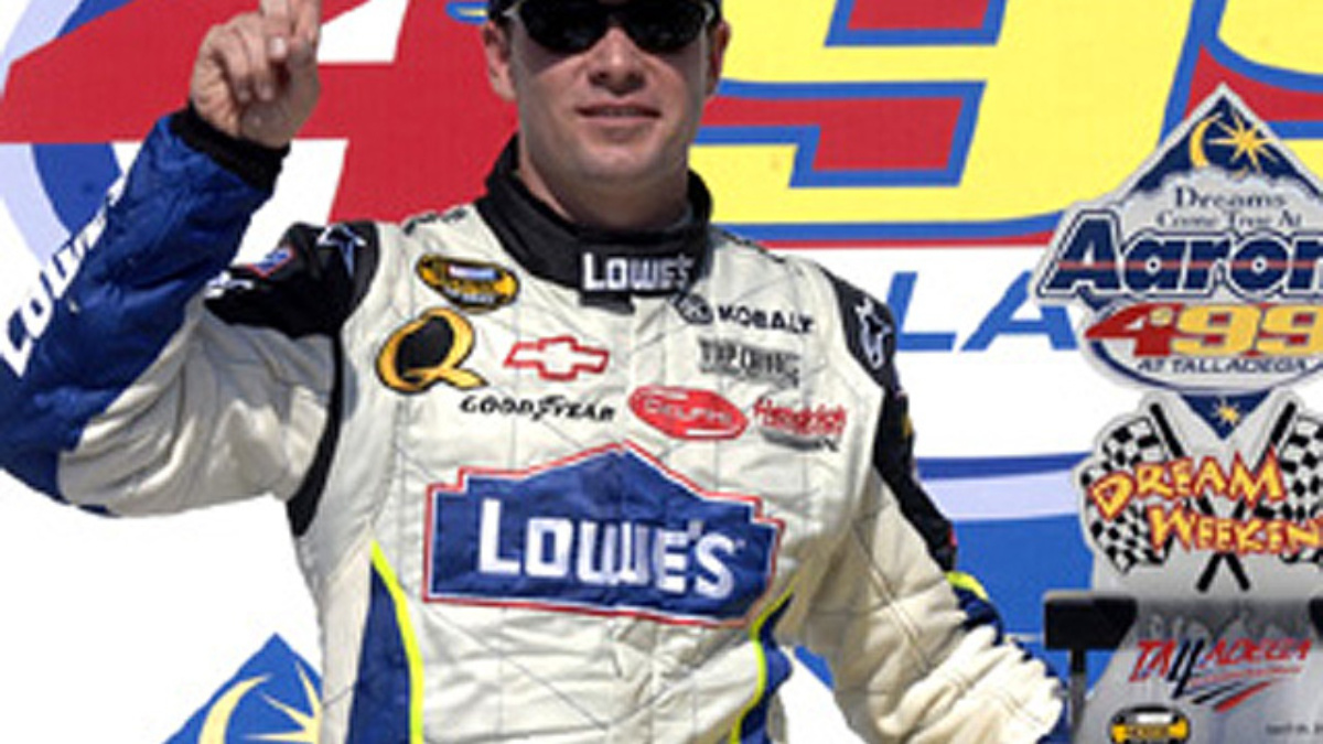 Johnson, Team Lowe's Take Talladega