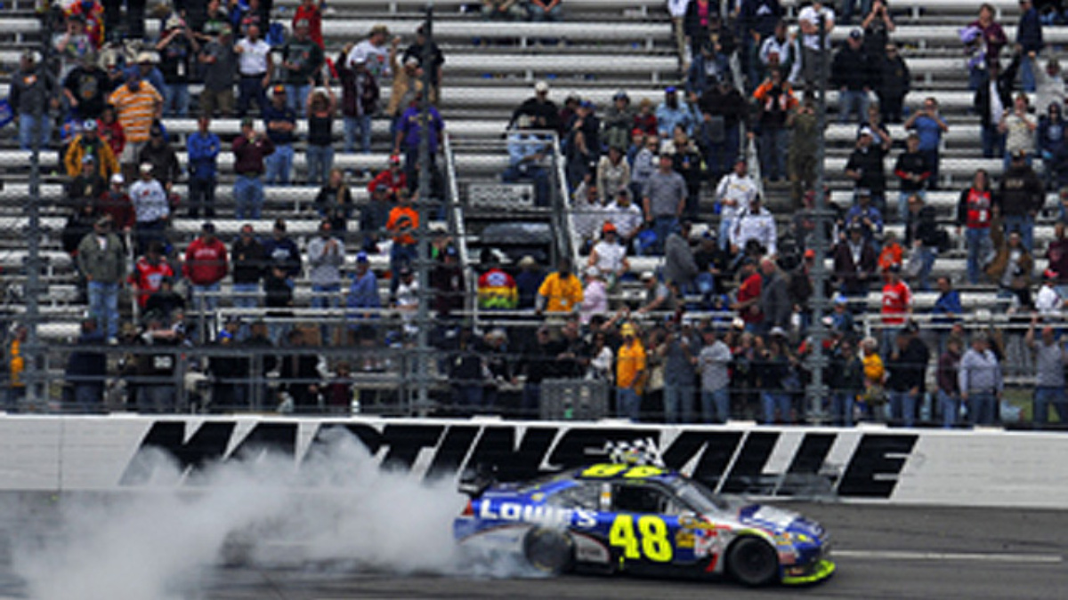Johnson wins at Martinsville on special day for Hendrick Motorsports
