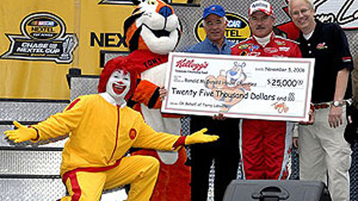 Kellogg Company Pays Tribute to Terry Labonte