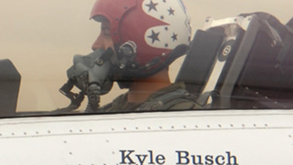 Kyle Busch Excited About Season Start, Thunderbird Flight