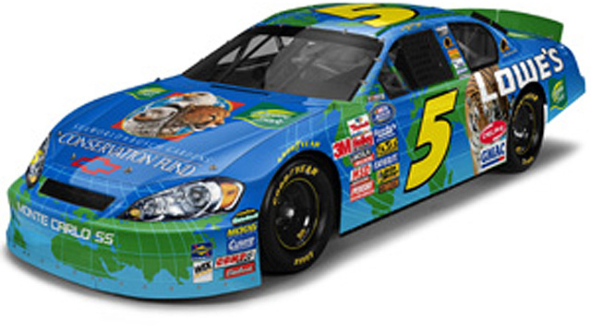 Kyle Busch Raising Money, Awareness for Conservation Fund