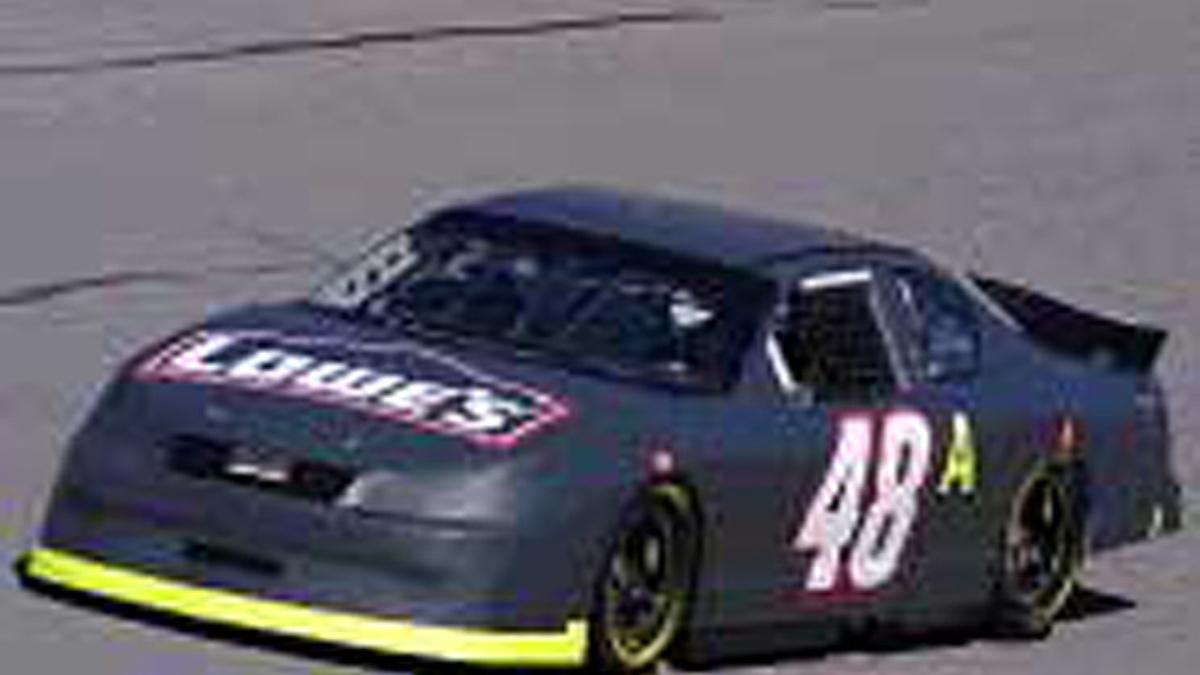Labonte and Johnson Test Daytona