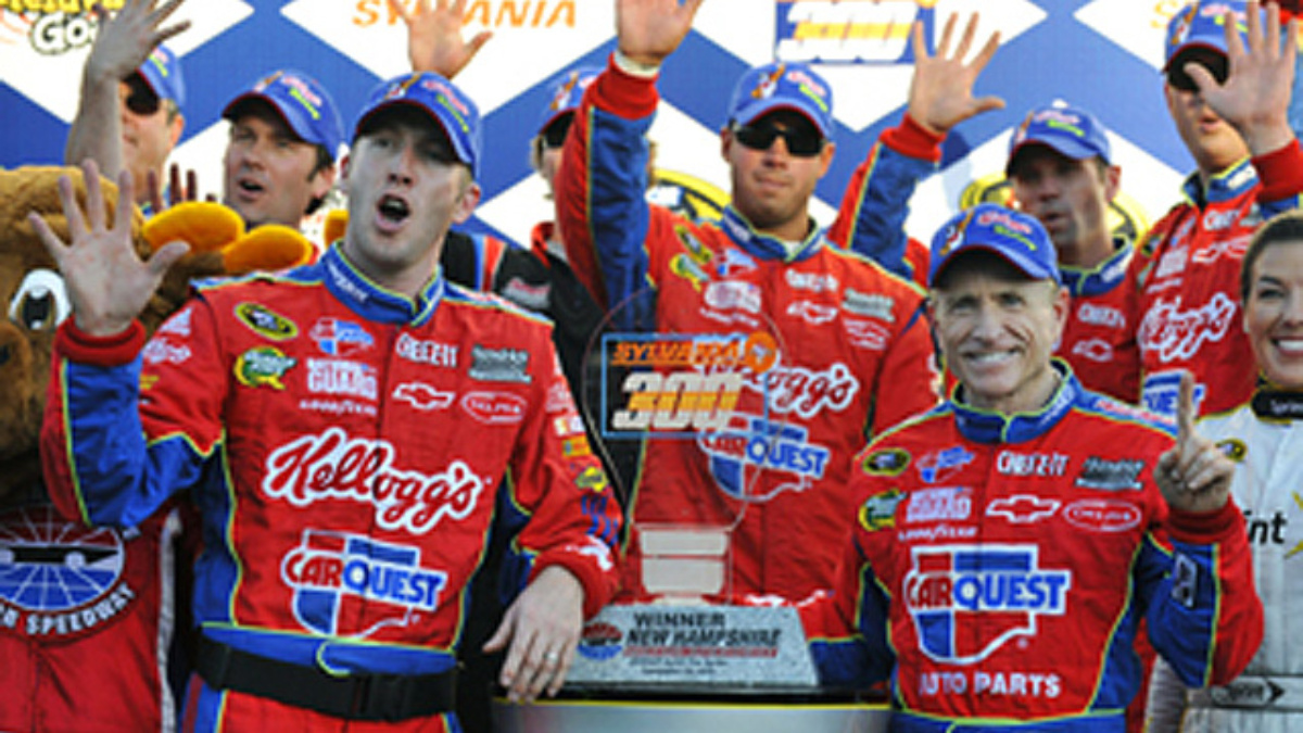 Loudon recap: Martin wins, Johnson fourth
