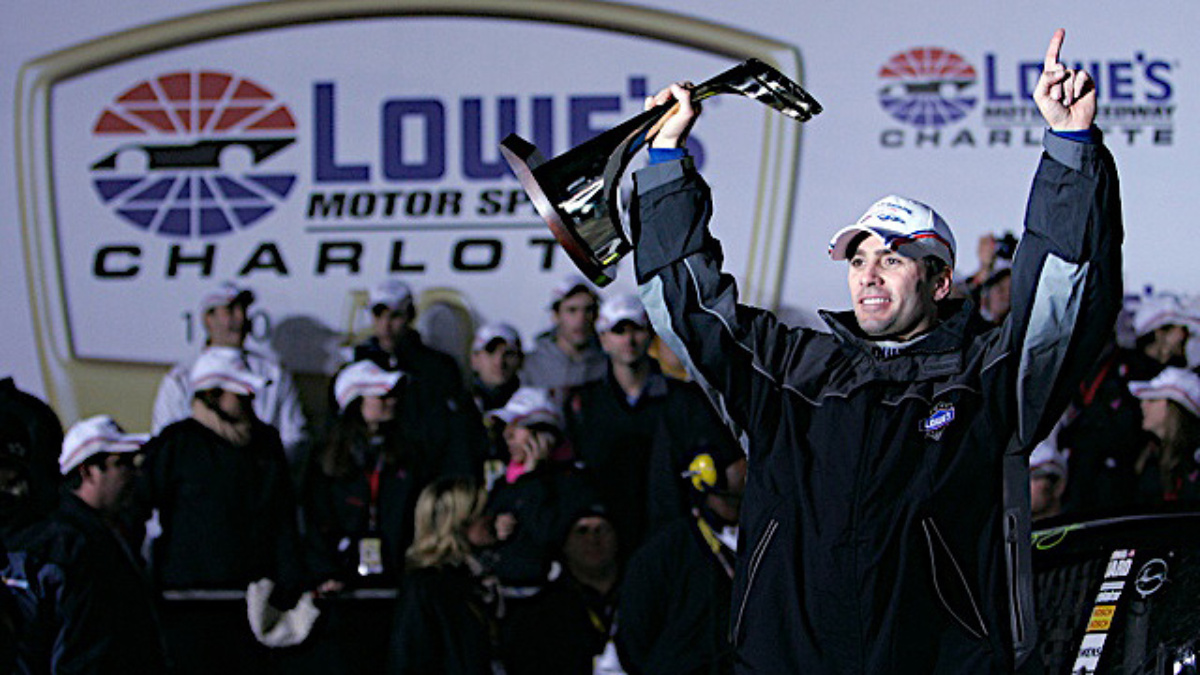 Lowe's recap: Johnson wins from pole position