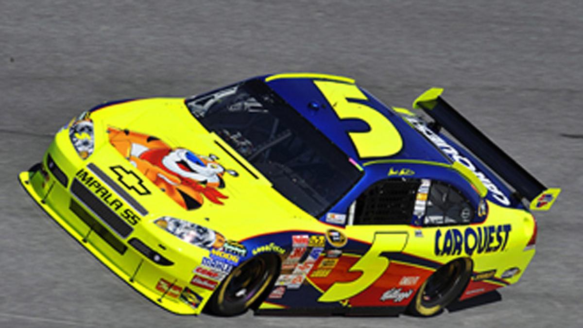 Martin on front row for Daytona 500