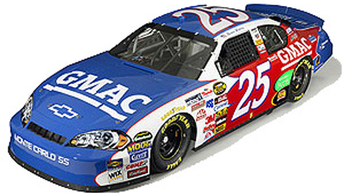 New Look for No. 25 GMAC Chevrolets in 2006