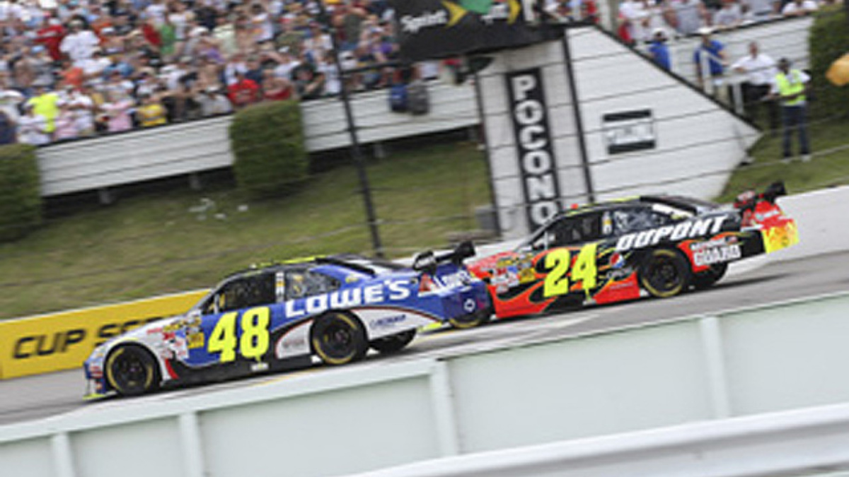 Pocono recap: Gordon and Johnson score top-10s