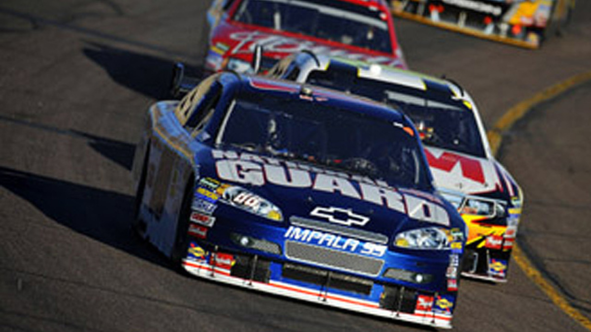 Pressure is perfect for Earnhardt at Talladega