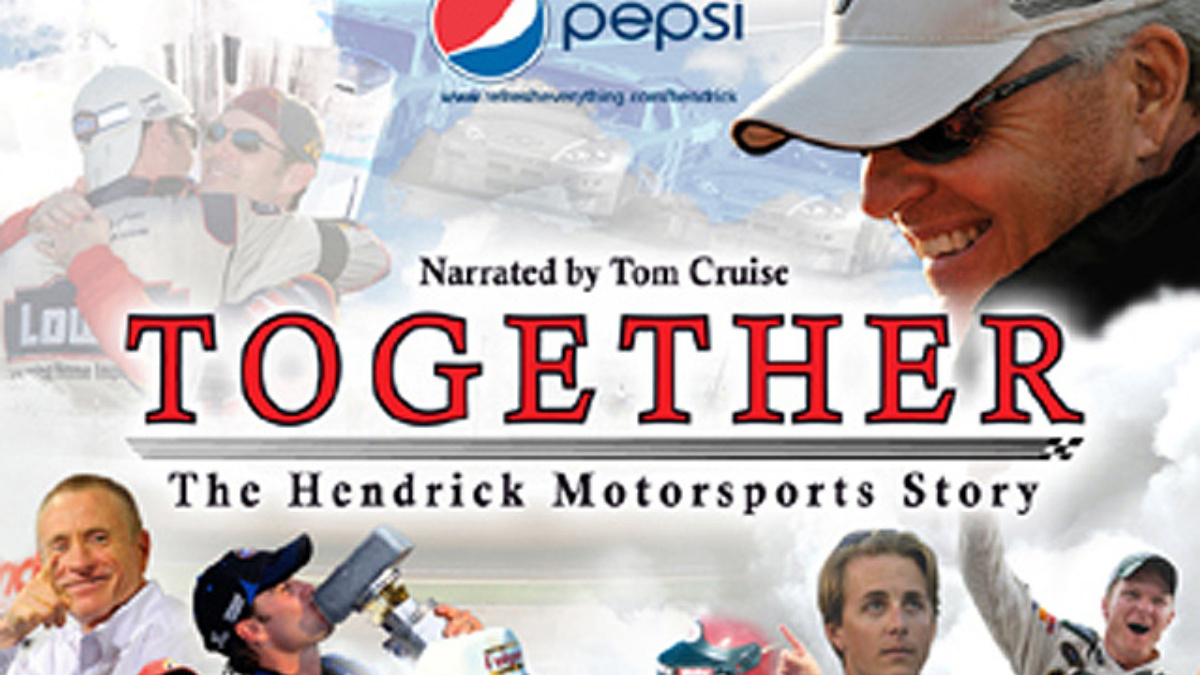 SHOWTIME to air full-length 'TOGETHER: The Hendrick Motorsports Story' on Wednesday