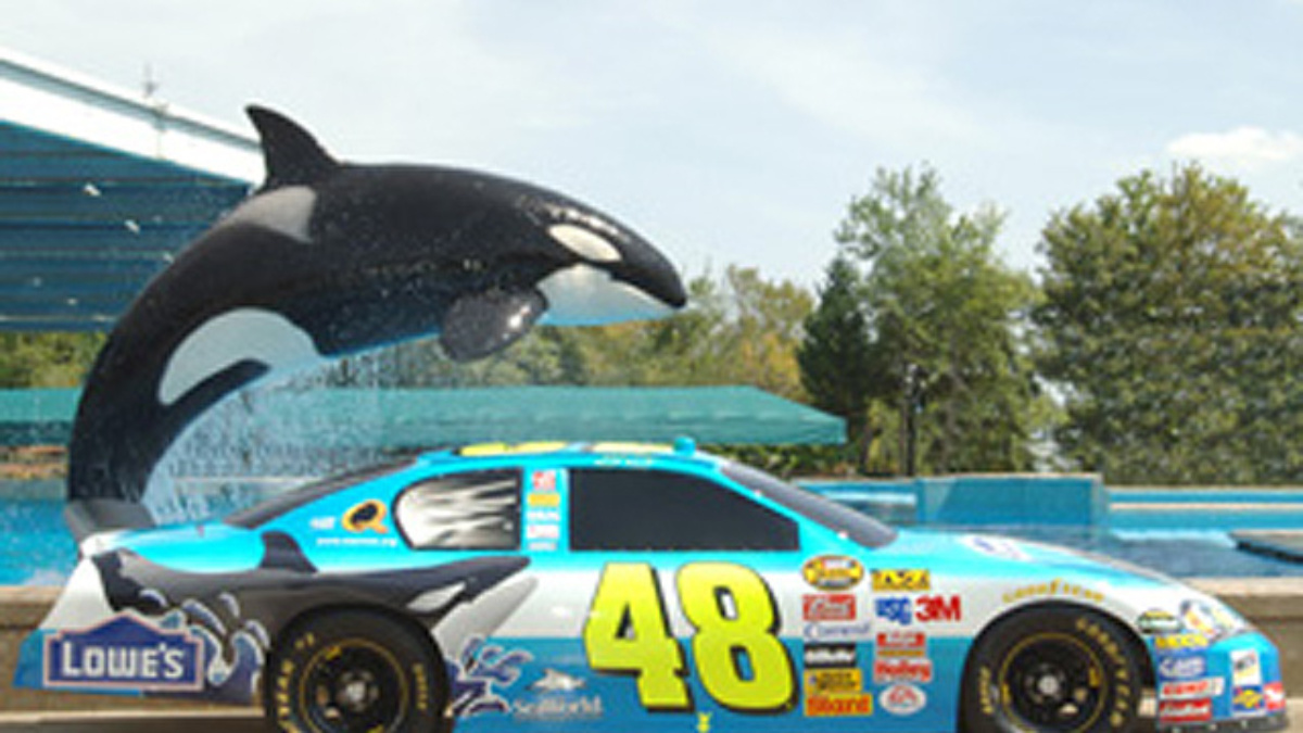Shamu to Join Johnson at Daytona's Pepsi 400