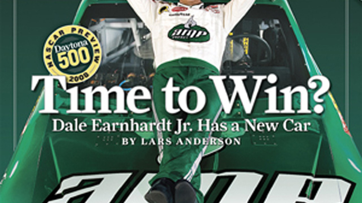 Sports Illustrated cover to feature Earnhardt Jr.