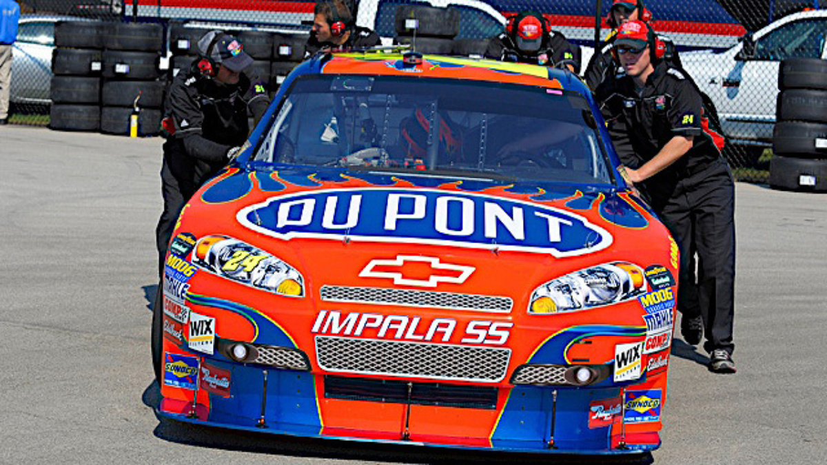 Team DuPont hopes testing pays off at Texas