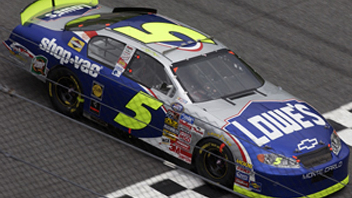 Team Lowe's Claims Top-Five Finish at Dover